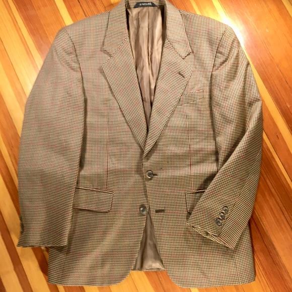 ed9e88a5bc53 Burberry Suits & Blazers   Wool Sport Coat Size 40 Tan   Poshmark